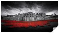 Tower of London Remembers. , Print