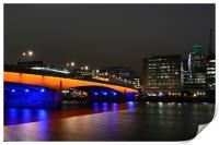 London Bridge, Print