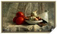 Tomatoes and Garlic, Print