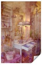 Delightful in Lavender, Print