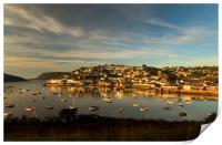 Sunrise, Salcombe Estuary Devon , Print