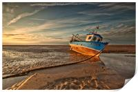 MEOLS BEACH (Grounded), Print