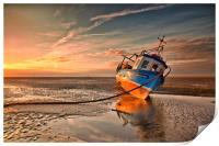 MORNING HAZE ( Small fishing boat ), Print
