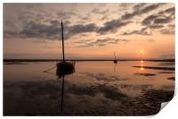 """""""Meols Sunrise"""", Print"""