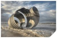 Marys Shell Cleveleys, Print