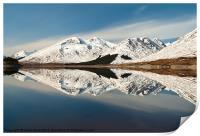 Kintail Reflection, Print