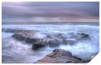 Misty Morning on the coast, Print
