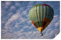 Photograph of a hot air balloon taken at the Putra, Print