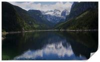 Lake Gossau, Austria, Print