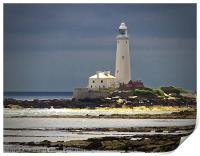 St Marys Island Lighthouse, Print