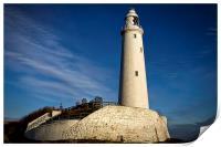St Marys Lighthouse, Print