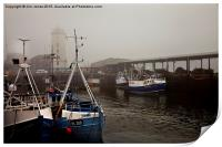 Fog on the Tyne, Print