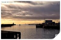Morning on the River Blyth, Print