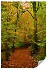 Autumn Enchantment, Print
