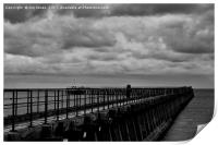The Old Wooden Pier, Print