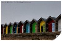 Beach Huts for hire - Heating optional, Print