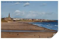 Tynemouth Long Sands (2), Print