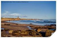 Tynemouth Long Sands, Print