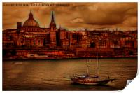 Valletta City of Culture 2018, Print