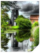 Norton Marsh Mill, Print