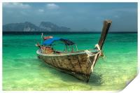 Thai Boat, Print