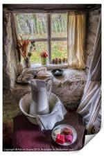 Victorian Wash Area, Print