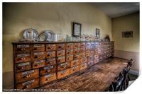 Medicine Cabinet, Print
