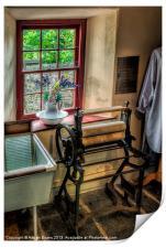 Victorian Wash Room, Print