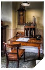 Victorian Office, Print