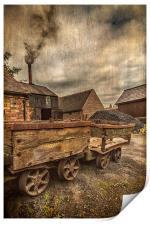 Victorian Colliery, Print