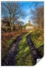 Old Cottage, Print