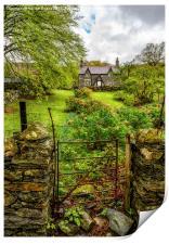 The Garden Gate, Print
