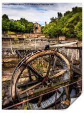Mine Wheel, Print
