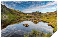Mountain Reflection, Print