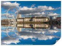 London Eye, Print