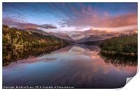 Snowdon Sunset, Print