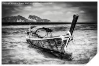 Longboat Thailand, Print