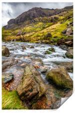 Llanberis Pass Snowdonia , Print