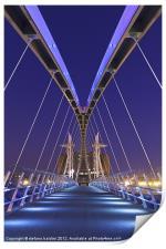 The Lowry bridge, Print