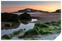 Bigbury-on-Sea and Burgh Island, Print