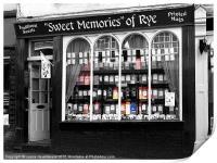 Sweet Memories of Rye, East Sussex, Print