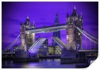 Tower Bridge London, Print