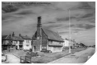 Aldeburgh Town and Promenade, Print
