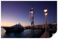 Portsmouths Spinnaker Tower 2, Print
