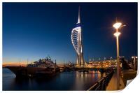 Portsmouths Spinnaker Tower 3, Print