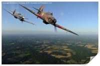 SPITFIRE AND HURRICANE, Print