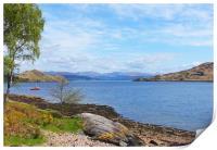 Loch a'Choire                    , Print