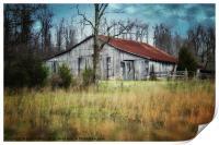 Old Barn, Print