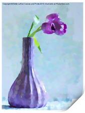 Tulip Abstract, Print