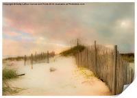 Sunrise on the beach, Print